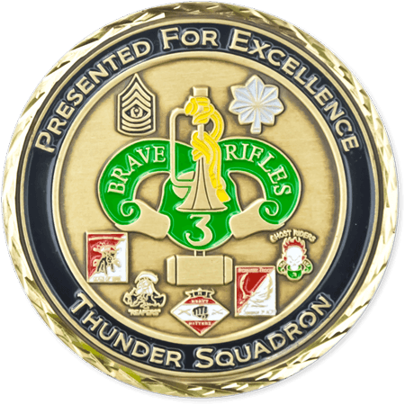 Miliarty Challenge Coin